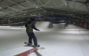 Only 4 weeks of snowboarding practice at the Uithof