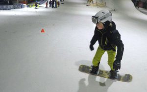 First week snowboarding at the Uithof